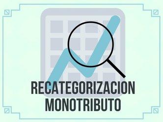 Recategorización Monotributo